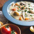 根菜のクリームシチュー(ヴィーガン&グルテンフリー)